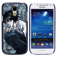 New Aluminum Metal Plate Hard Plastic Shell Cover DEATH NOTE For Samsung GALAXY S4 Mini Case Retail Free Shipping S4Mini-1419