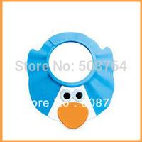 Free shipping 2pcs/lot Adjustable Soft Shampoo Bath Shower Cap cartoon Hat for Baby Kid Children Hair
