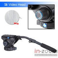 Benro S6 Professional Video Head Magnesium Alloy *Fast Free Shipping