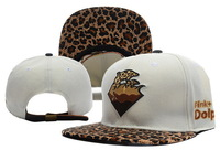 2013 New Style Pink Dolphin Leopard Strapback hat / cap  White & Black men snapback caps Are Extremely Loved By People wholesale