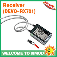 Walkera 7CH RX701 Receiver For Walkera DEVO6S/DEVO7/DEVO7E/DEVO8S/DEVO12S Transmitter/Radio