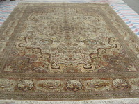 Size 9x12ft Luxus 100%Handmade Persian Silk  Carpet And Rug  a25-9x12 On Sale!