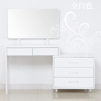 Dressing table dressing table dressing shipping modern minimalist style paint cabinet Z01 port to port by sea