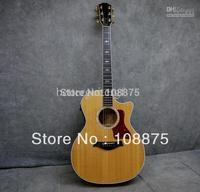 - CUSTOM SHOP 614CE Grand Auditorium Cutaway Acoustic-Electric Guitar100% Excellent Quality