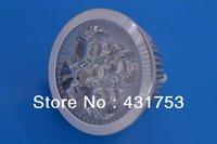 12W (4 * 3W) E27 LED Spot Light LED 85-265V/AC warm white / white / cool white bulb free shipping ( high brightness )