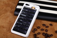 2013 Bling Bling Piano Movable Swarovski Crystal Case Hard Back Cover Case for iPhone 5/4/4s Mix order without retail box