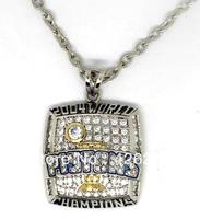 Free shipping 5pcs a lot Pistons championship pendant necklace sport jewelry(CN001)
