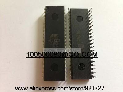 Free shipping Atmel AT89S52-24PC -24PU Programmable MCU Microcontroller 8051 AT89S52 New(China (Mainland))