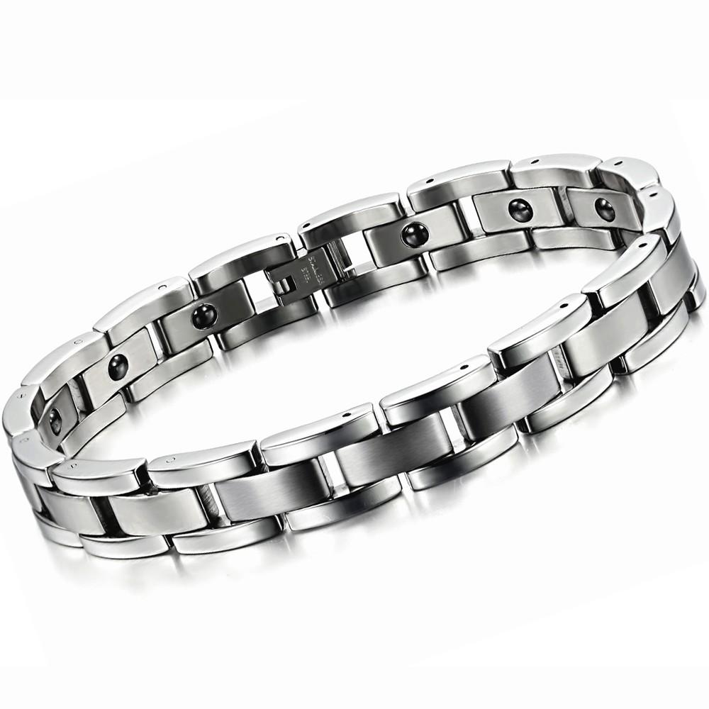Tourmaline Energy Balance Bracelet Tourmaline Bracelet Health Care Jewelry For Women Germanium Magnetic Bracelets & Bangles 8012(China (Mainland))