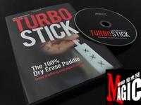 Turbo Stick by Richard Sanders (DVD+Gimmick) ,Hot Seller!   magic products,magic sets, magic props, magic tricks,magic show