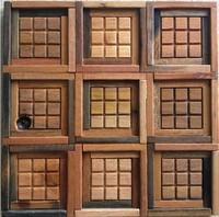 Natural wood mosaic tile NWMT046 wood mosaics kitchen backsplash tile ancient wood mosaic wall tiles design mosaic wood pattern