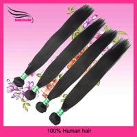 Queen Hair Product,Striaght BrazilianVirgin Hair,Natural Color, 3 bundles/Lot DHL free shipping,