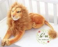 Free ship children/kid/baby Stuffed Toy birthday gift doll plush toys Lion 50cm