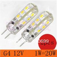G4 base, 1.5W led corn lamp, 12 v (3000-6500 k), quality assurance, 2 PCS/lot Free shipping