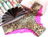 women's ladies' lingerie victoria vs brand seamless pink lace cotton floral leopard panties briefs panty underwear women sexy