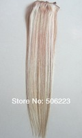 "16"" 18"" 20"" 24"" 26"" 100% human remy Clip in hair extensions #18/163  70g 7pcs (#1b #2 #27 #613 #4 #4/613 optional)"