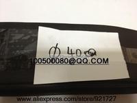 Free shipping 40mm Diameter Black Heat Shrinkable Tube Shrink Tubing 1M Long Good Quality New