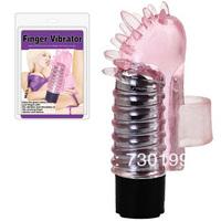2.5*7.5cm oral sex finger wear thorn vibrator , vibrating vagina clitoris tongue stimulator masturbation sex toy for women s166