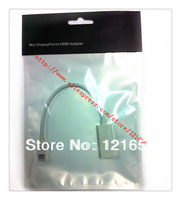 For Macbook mini display port to HDMI (TV) adapter