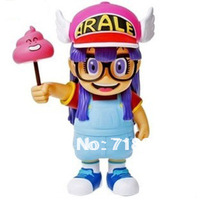 Drop Free Shipping,8 Inch Cute Dr Slump IQ Figure Limited Edition,Arale Doll Toy, PVC Action Figure,Collection Model,20cm,1PC
