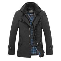 2014 TOP Quality New Fashion Jakects For Men Coat Splice Thicken Men's Winter Jacket Coats Mens Coat Brand military Overcoat