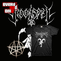 Free shipping 2013 Moonspell band goat short-sleeve T-shirt goth metal black  Rock Band Price is negotiable