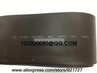 Free shipping 50mm Diameter Black Heat Shrinkable Tube Shrink Tubing 1M Long Good Quality New