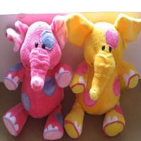 Plush toy beautiful cartoon doll multicolour elephant dolls birthday gift