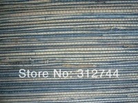 grasscloth wallpaper blue 90145 home decor nature textile kid wallpaper+home decoration+hotel wallpaper