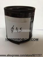 Free shipping 45mm Diameter Black Heat Shrinkable Tube Shrink Tubing 1M Long Good Quality New