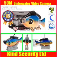 Free Shipping for 50m 600TVL CCD Color Underwater Video Camera Fishing Camera ,underwater cctv camera,waterproof camera