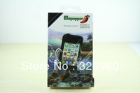 2013 NEW 15 colors Waterproof dirtproof shockproof case for  iphone 4/4S waterproof case free shipping
