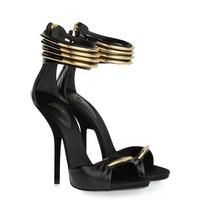 Fashion sexy 2013 4 belt metal decoration ultra high heels high-heeled sandals female banquet