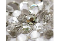 Free shipping!!!Crystal Cabochons,Cheap Jewelry Wholesale, Dome, plated, Crystal, A, 3.0-3.2mm, 10Grosses/Bag, Sold By Bag