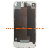 Hot New Black/White glass Back Battery Door Housing Cover for iPhone 4S, best price & best quality