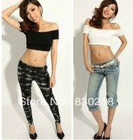 Free Shipping  BC01 Midriff T-shirt shorts sexy strapless collar small vest wrapped chest