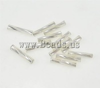 Twist Bugles Glass Seed Beads,fantasies for womens, Tube, 2x9mm, Hole:Approx 1mm, Sold By Bag