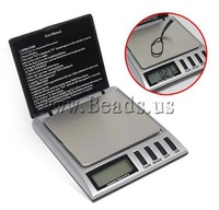 Free shipping!!!Digital Pocket Scale,Hot Style, ABS plastic, Rectangle, 99x88x25mm, Sold By PC