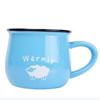 Zakka ceramic cup mug milk cup breakfast cup glass coffee cup