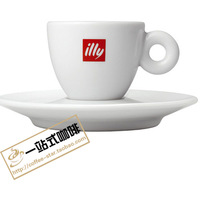 Cup spoon illy coffee cup cappuccino coffee cup cappuccino