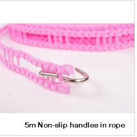 Free shipping nylon non-slip windproof clothesline 5 meters parallel-chord rope for hanging clothes drying rope