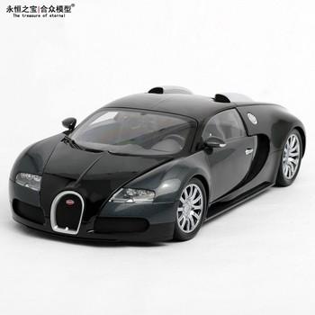 Brand New MINICHAMPS 1:18 Scale Bugatti Veyron 2009 Diecast Black Model Gift