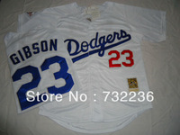 wholesale Los Angels Dodgers jersey #23 Kirk Gibson men's Baseball Jersey 1998 Throwback Size:M-3XL