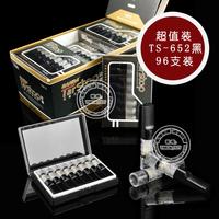 Suntar sd-652 double filter cigarette holder black disposable cigarette holder disposable