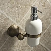 Antique copper soap dispenser bathroom ceramic manual soap dispenser fashion bathroom wall mounted