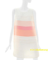 Cc collect color block decoration c132mse058 one-piece dress