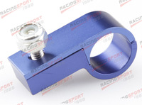 AN3 3AN -3 AN ALUMINUM LINE CLAMP ( ID 9.5MM ) HOSE CLAMP AD73004 Blue