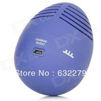 USB Rechargeable Easter Egg Tumbler Speaker (3.5mm Jack Purple)   Free Delivery
