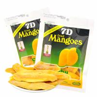 Snacks philippine dried mango 7d dried mango 100g each bag mangoes 3 bags =300g