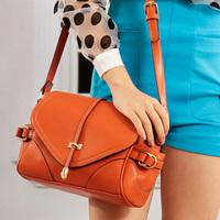 wholesale Women handbag candy color arrow decoration shoulder bags women messenger bag fashion bucket new design hot